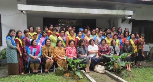 Seluruh peserta Kursus dan Badan Pengurus PPKS - PGI