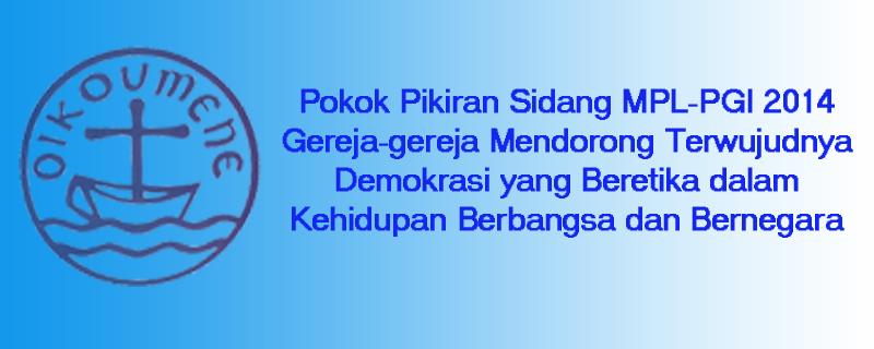 Pokok Pikiran Sidang MPL