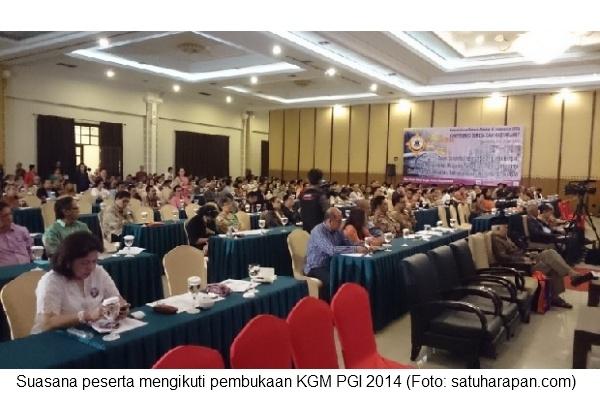 KGM hari 1 - Suasana peserta yang hadir