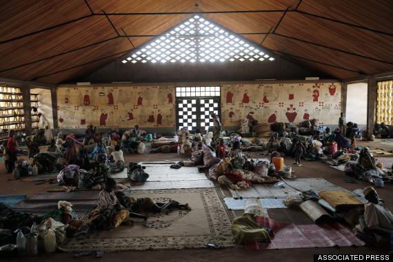Central African Republic-Church Refuge-Photo Essay
