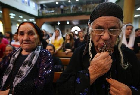 IRAQ-UNREST-RELIGION-CHRISTIANS