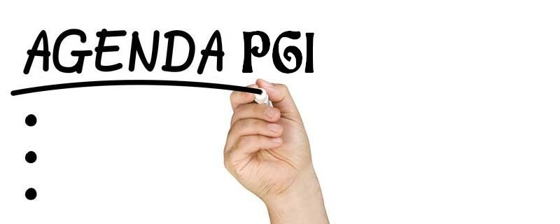 Agenda PGI