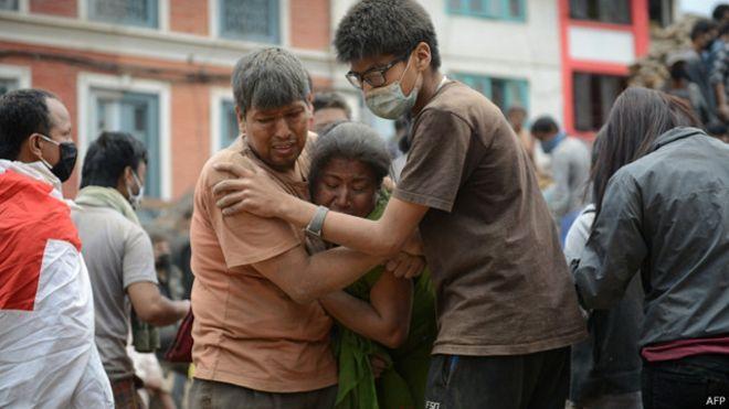 Pemeritah menetapkan keadaan darurat di kawasan yang dilanda gempa.