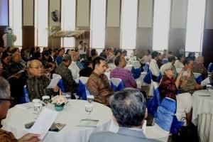 Perwakilan mitra PGI, pimpinan Sinode Gereja, dan pimpinan ormas Kristen yang turut hadir