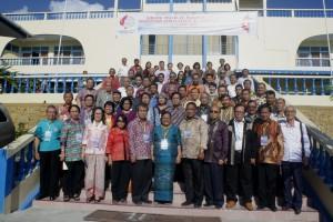 Seluruh peserta Sidang MPL-PGI 2016 foto bersama