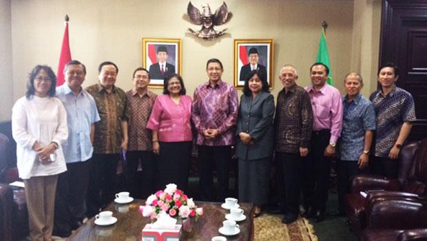 Pertemuan MPH PGI dengan Menag RI