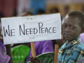 We Need Peace. (Foto: WCC/Paul Jeffrey)