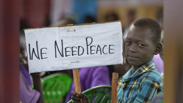 We Need Peace. (Foto: WCC/Paul Jeffrey)